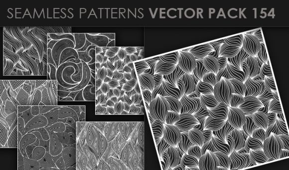 Seamless Patterns Vector Pack 154 5