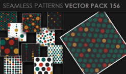 Seamless Patterns Vector Pack 156 Patterns [tag]