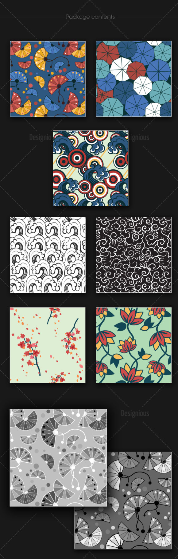 Seamless Patterns Vector Pack 157 products designious vector seamless 157 large