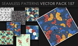 Seamless Patterns Vector Pack 157 Vector Patterns [tag]