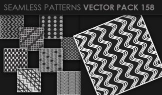 Seamless Patterns Vector Pack 158 Patterns [tag]