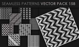 Seamless Patterns Vector Pack 158 Vector Patterns [tag]