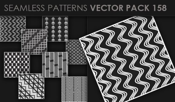 Seamless Patterns Vector Pack 158 5