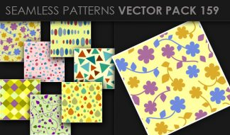 Seamless Patterns Vector Pack 159 Patterns [tag]