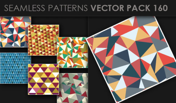 Seamless Patterns Vector Pack 160 1