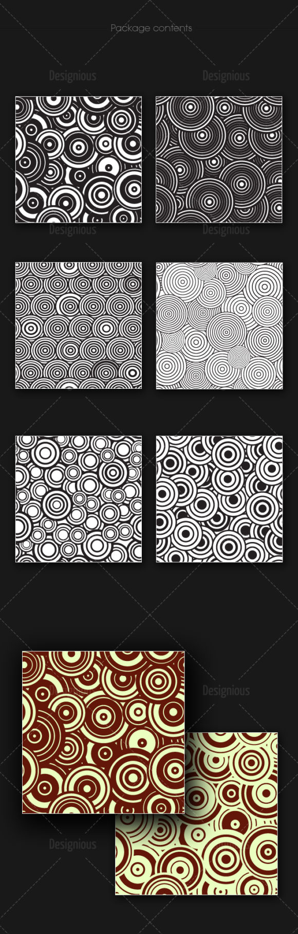 Seamless Patterns Vector Pack 161 products designious vector seamless 161 large