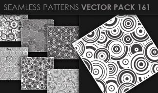 Seamless Patterns Vector Pack 161 Patterns [tag]