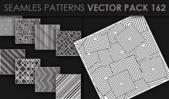 Seamless Patterns Vector Pack 162 Patterns [tag]