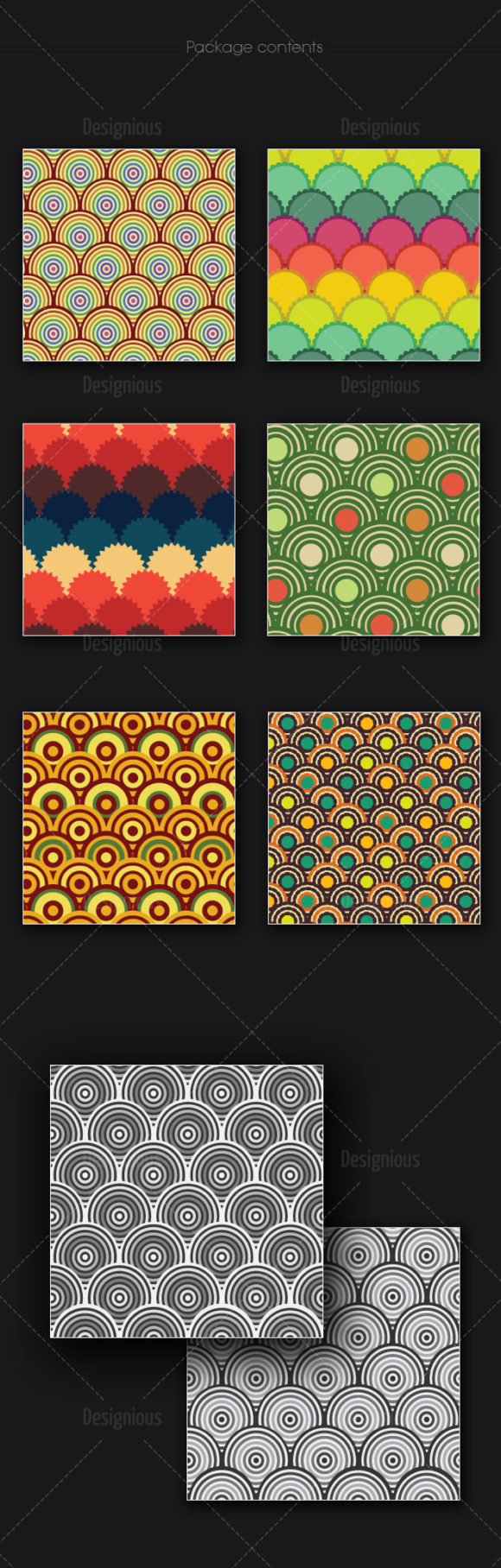 Seamless Patterns Vector Pack 163 6
