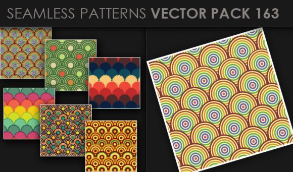 Seamless Patterns Vector Pack 163 5