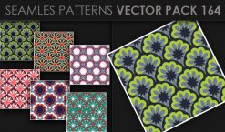Seamless Patterns Vector Pack 164 Patterns [tag]