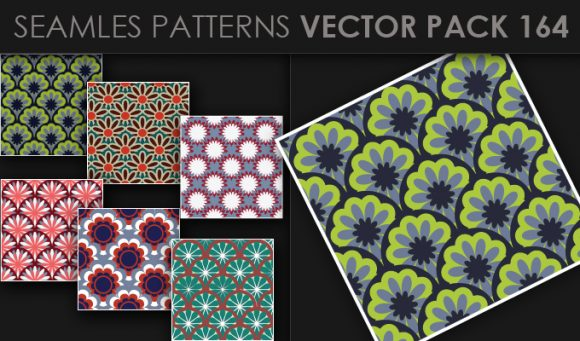 Seamless Patterns Vector Pack 164 products designious vector seamless 164 small