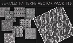 Seamless Patterns Vector Pack 165 Patterns [tag]