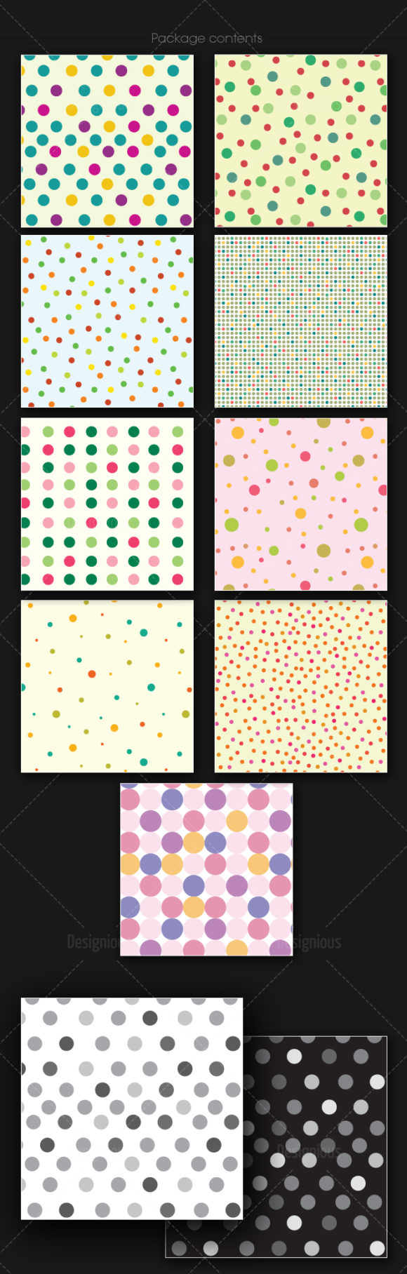 Seamless Patterns Vector Pack 166 products designious vector seamless 166 large
