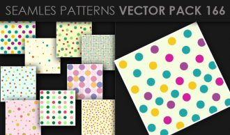 Seamless Patterns Vector Pack 166 Vector Patterns [tag]