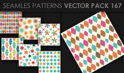 Seamless Patterns Vector Pack 167 Patterns [tag]