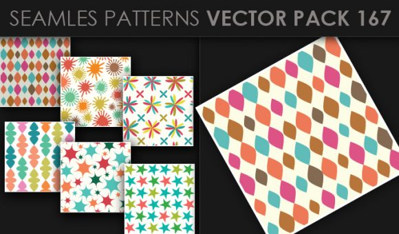 Seamless Patterns Vector Pack 167 1