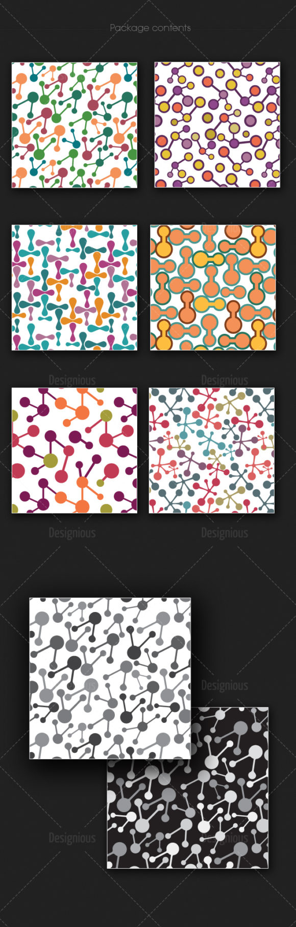 Seamless Patterns Vector Pack 168 products designious vector seamless 168 large