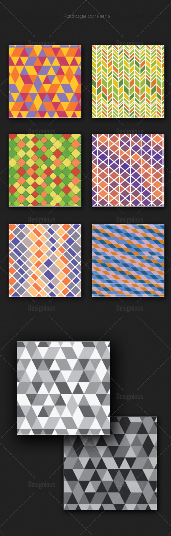 Seamless Patterns Vector Pack 170 6