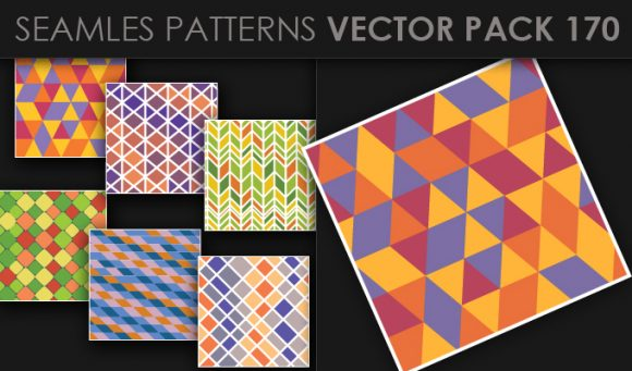 Seamless Patterns Vector Pack 170 5