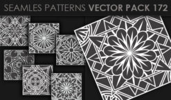 Seamless Patterns Vector Pack 172 Patterns [tag]