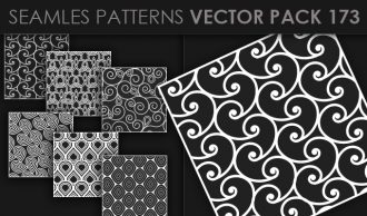 Seamless Patterns Vector Pack 173 Vector Patterns [tag]