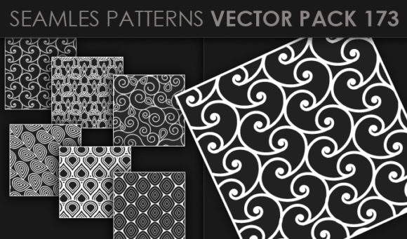 Seamless Patterns Vector Pack 173 5
