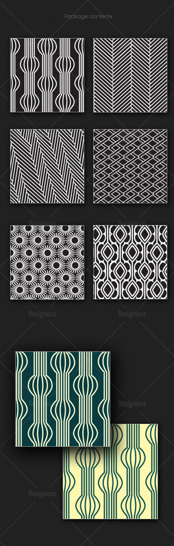 Seamless Patterns Vector Pack 174 products designious vector seamless 174 large