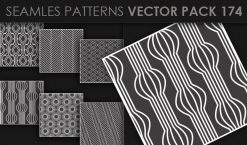 Seamless Patterns Vector Pack 174 Patterns [tag]