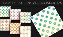 Seamless Patterns Vector Pack 175 Patterns [tag]