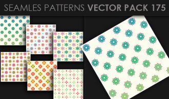 Seamless Patterns Vector Pack 175 Vector Patterns [tag]