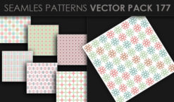 Seamless Patterns Vector Pack 177 Patterns [tag]