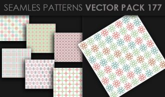 Seamless Patterns Vector Pack 177 Vector Patterns [tag]