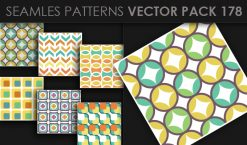 Seamless Patterns Vector Pack 178 Patterns [tag]