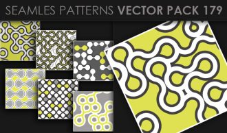 Seamless Patterns Vector Pack 179 Vector Patterns [tag]