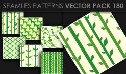 Seamless Patterns Vector Pack 180 Patterns [tag]