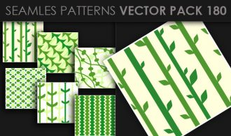 Seamless Patterns Vector Pack 180 Vector Patterns [tag]