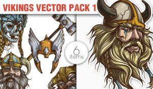 Vikings Vector Pack 1 War [tag]