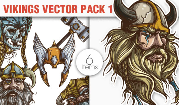 Vikings Vector Pack 1 products designious vector vikings 1 small
