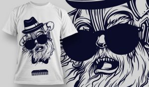 T-shirt Design 736 T-shirt designs and templates vector