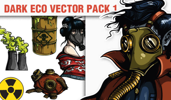 Dark Eco Vector Pack 1 products designious vector darkeco 1 small