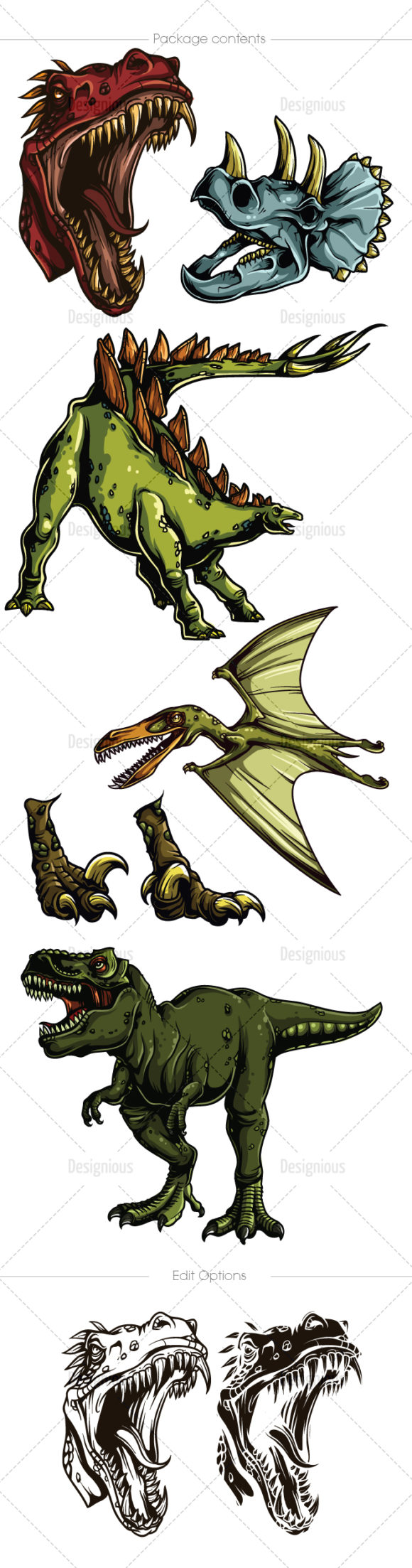 Dino Vector Pack 1 6