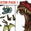 Dark Eco Vector Pack 1 products designious vector dino 1 small