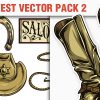 Wild west vector pack products designious vector wild west 2 small