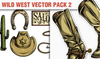 Wild West Vector Pack 2 Wild west [tag]