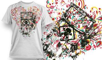 T-shirt Design 744 T-shirt Designs and Templates vector