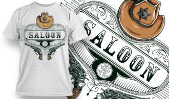 T-shirt Design 769 T-shirt Designs and Templates vector
