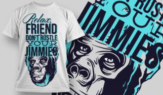 T-shirt Design 770 T-shirt Designs and Templates vector
