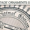 Vintage Ornaments Vector Pack 9 products designious vintage ornaments 10 small