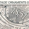 Vintage Ornaments Vector Pack 2 products designious vintage ornaments 3 small
